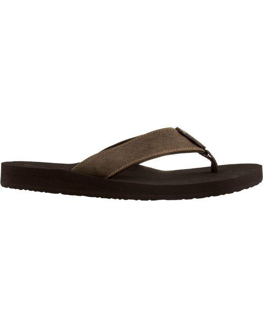 Cobian - Brown Floater Flip Flops for Men - Lyst