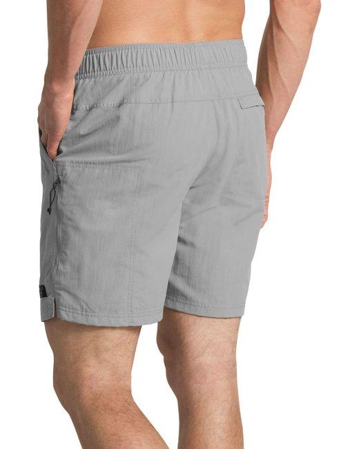 7087d7d1f Men's Gray Class V Belted Trunk Shorts