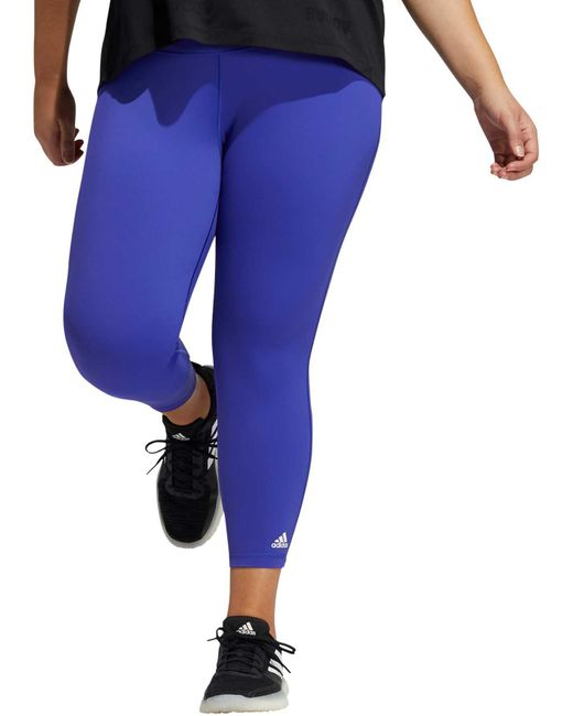 Adidas Blue Believe This 2.0 7/8 Tights