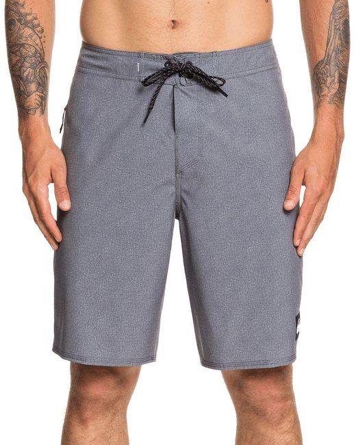 Quiksilver Gray Highline Kaimana Board Shorts for men