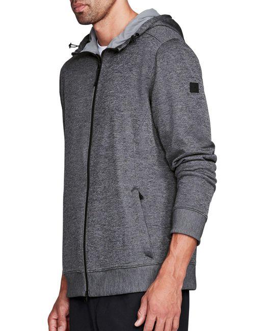 4f9ca938 ... Under Armour - Gray Sportstyle Sweater Fleece Full-zip Long Sleeve T- shirt for ...