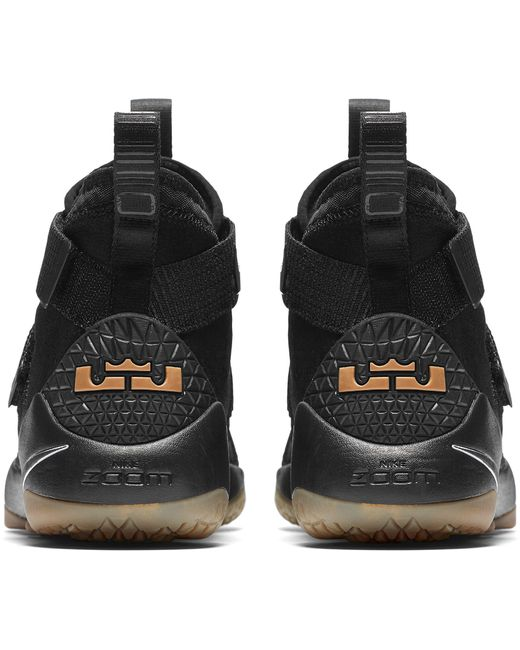 ... Nike - Black Zoom Lebron Soldier Xi Basketball Shoes for Men - Lyst