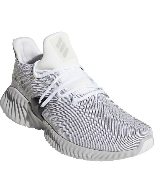 76ee28de0230a ... Adidas - Gray Alphabounce Instinct Running Shoes for Men - Lyst ...