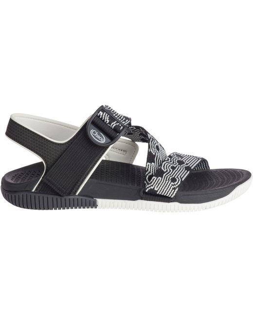 1d92e5e83a8d Chaco - Black Confluence Sandals - Lyst ...