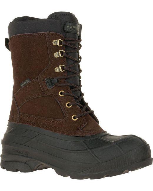 Kamik - Brown Nationplus Snow Boot for Men - Lyst