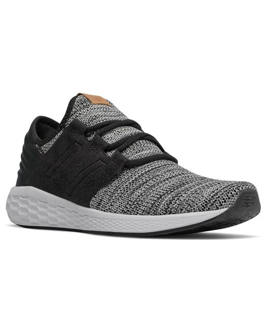 newest 4500c 790da ... New Balance - Black Fresh Foam Cruz V2 Knit Running Shoes for Men -  Lyst ...