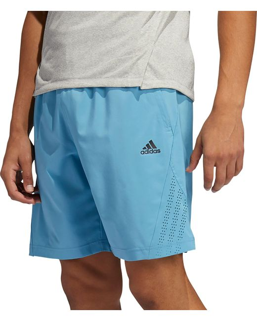 Adidas Blue Axis Woven 2.5 Shorts for men
