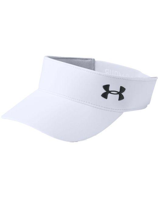 Lyst - Under Armour Links 2.0 Golf Visor in White - Save 48.0% 71afa3e4177