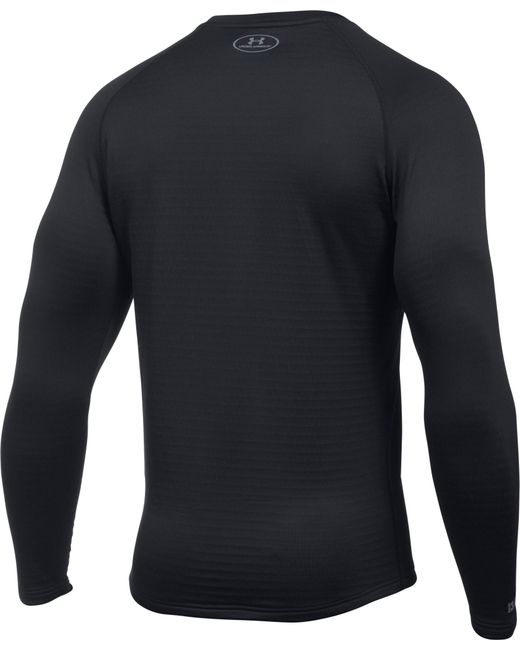 0b44b588 ... Under Armour - Black Ase 3.0 Crew Long Sleeve Shirt for Men - Lyst