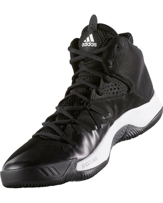 728c020fa ... coupon for adidas black dual threat 2017 basketball shoes for men lyst  83e3f 0ddce ...