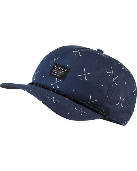 Nike - Blue Classic99 Printed Golf Hat for Men - Lyst ... 012b8f7af559