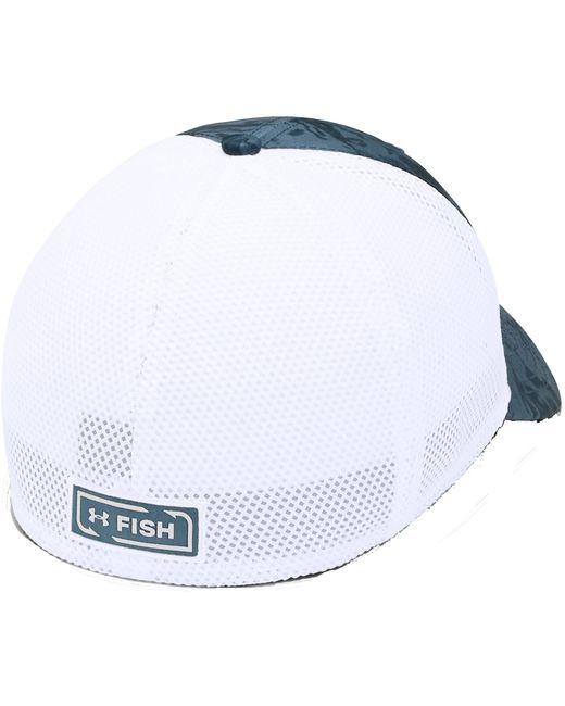 bd1ee5372fe ... Under Armour - White Fish Hunter Trucker Hat for Men - Lyst