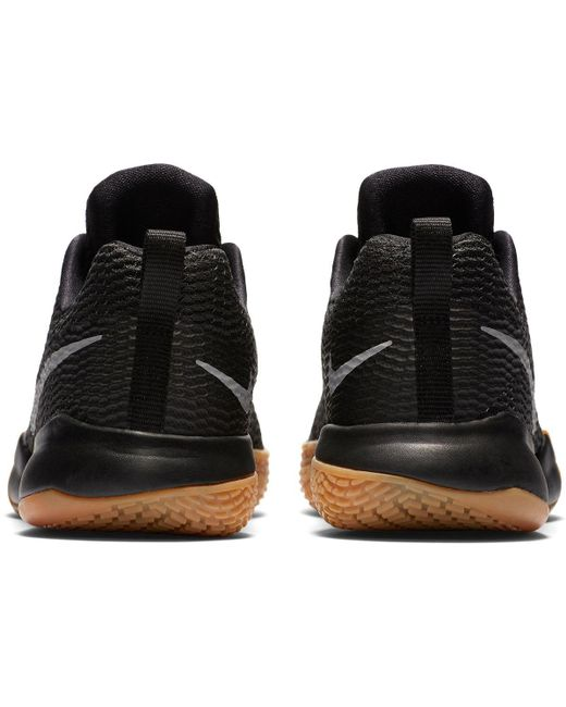 9ebcd0c18af3 ... Nike - Black Zoom Live Ii Basketball Shoes for Men - Lyst ...