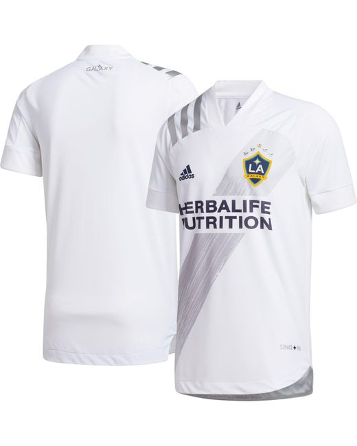 Adidas White Los Angeles Galaxy '20 Primary Authentic Jersey for men