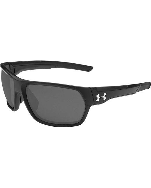ef196da78168 Under Armour - Black Shock Fishing Sunglasses for Men - Lyst ...