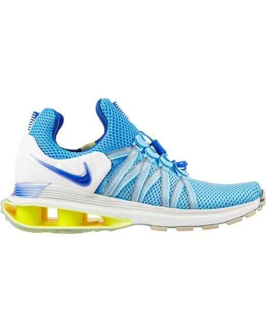 Nike - Blue Shox Gravity Shoes - Lyst