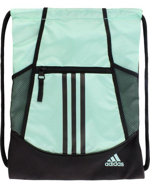 1ce11184d7c Adidas - Green Alliance Ii Sack Pack for Men - Lyst ...