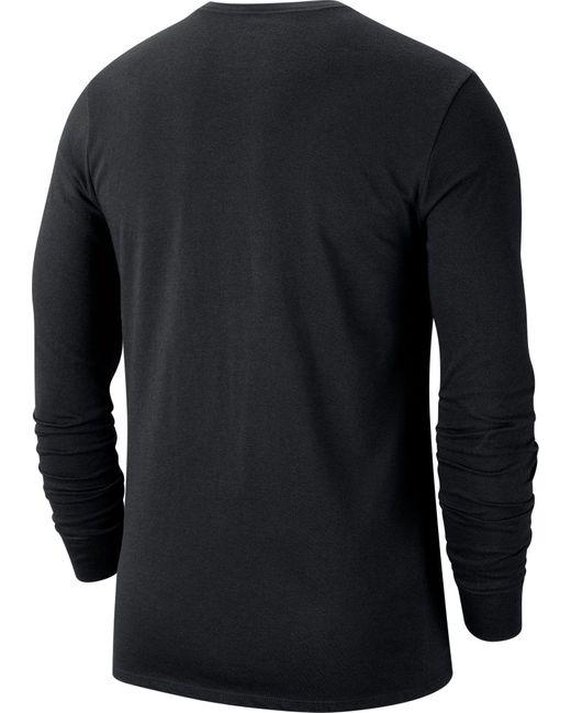 Nike Black Oregon State Beavers Team Issue Long Sleeve T-shirt for men