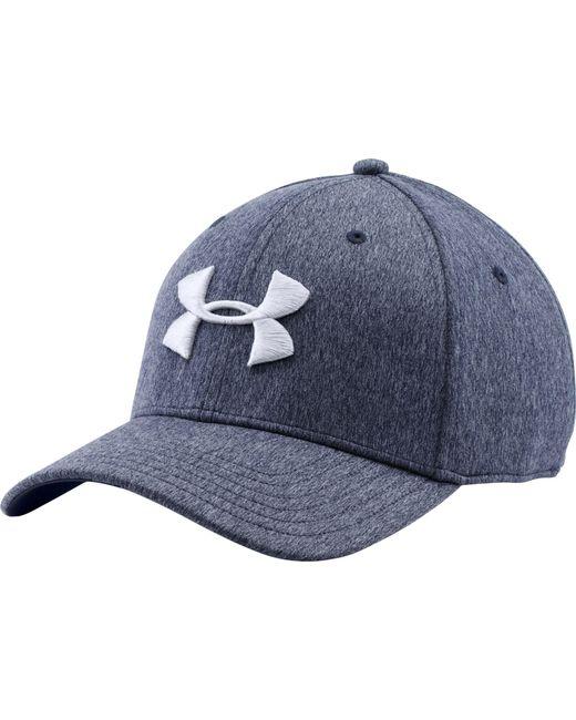 Under Armour - Blue Twist Print Tech Closer Hat for Men - Lyst ... 2312ab354a17
