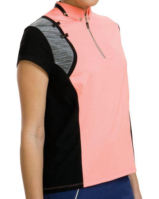 Jamie Sadock - Pink Tutti Fruitti Golf Polo - Lyst