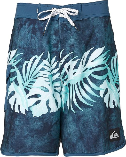 """Quiksilver Blue Highline Country 19"""" Board Shorts for men"""