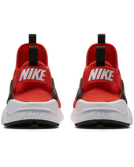 b5f11b1e2f34 ... Nike - Red Air Huarache Run Ultra Shoes for Men - Lyst ...