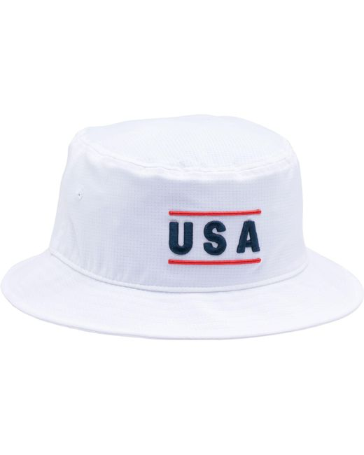 64a3f5830e2fb ... denmark under armour white armourvent usa graphic bucket hat for men  lyst bc242 80d1c