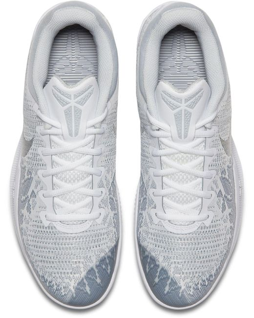 hot sale online 4bfb6 79b11 ... Nike - White Kobe Mamba Rage Basketball Shoes for Men - Lyst ...