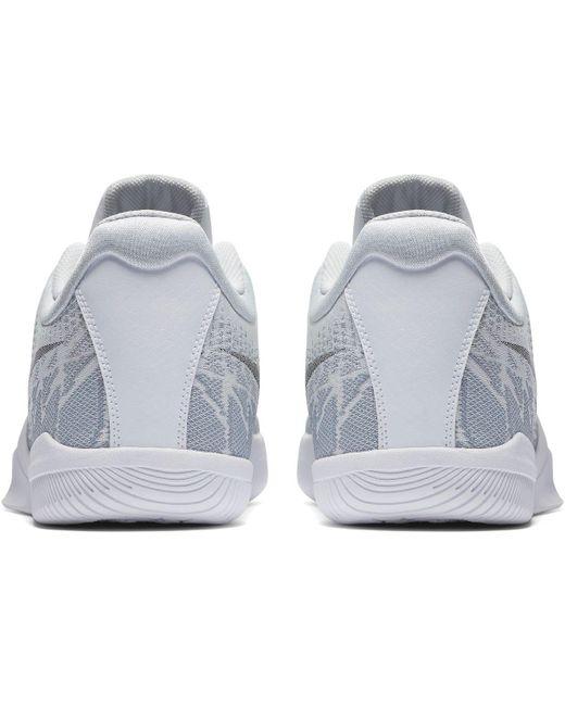 Nike - White Kobe Mamba Rage Basketball Shoes for Men ...