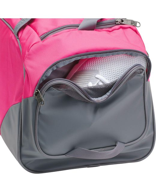 Lyst - Under Armour Undeniable 3.0 Medium Duffle Bag in Pink for Men ... b43c7bc835