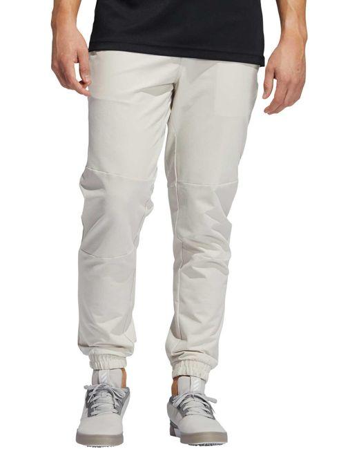 Adidas Gray Adicross Woven Jogger Pants for men