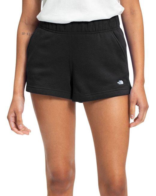 The North Face Black Fleece Shorts