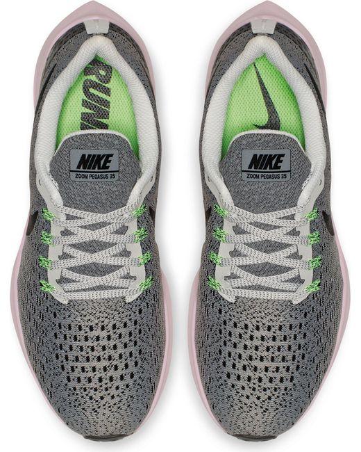 timeless design e4aca 21db5 Women's Gray Air Zoom Pegasus 35 Running Shoes