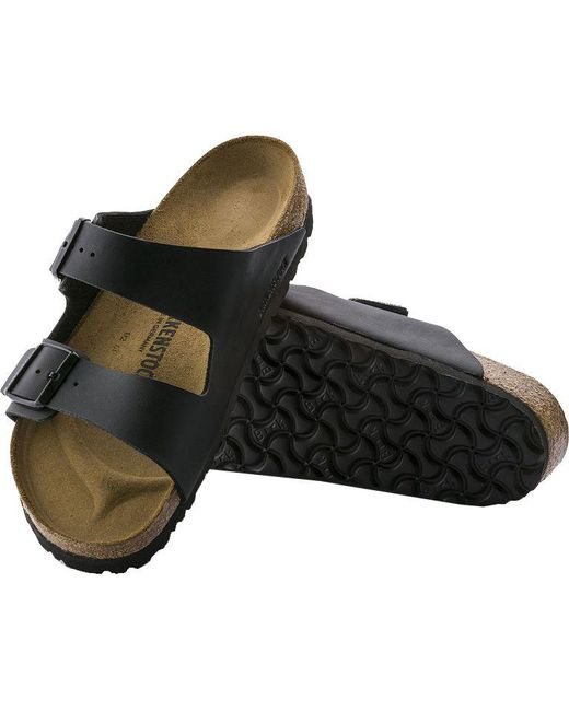 a4fe449f39b5 ... Birkenstock - Black Arizona Birko-flor Sandals for Men - Lyst ...