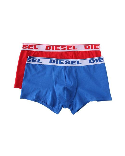 DIESEL - White 3 Pack Trunks In Bright Colors for Men - Lyst