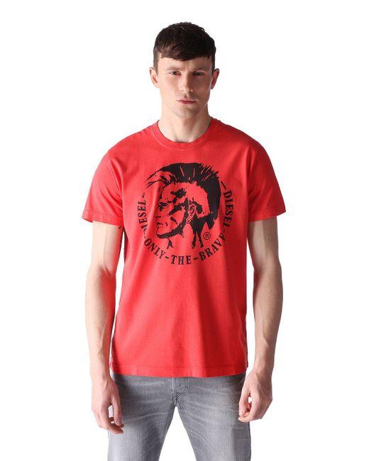 DIESEL | Red T-ulysse for Men | Lyst