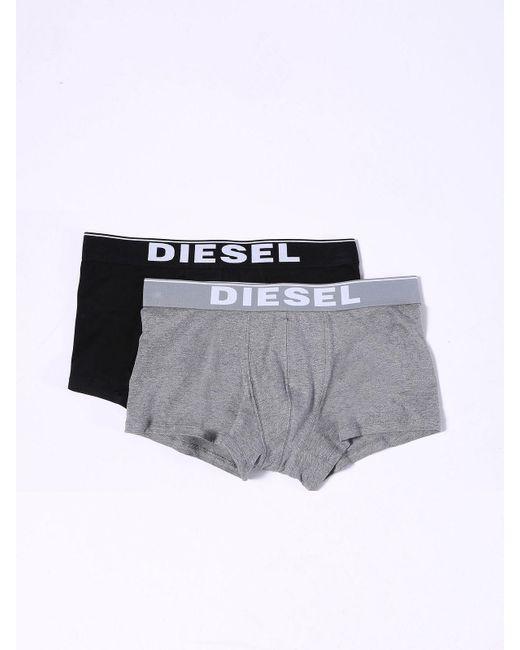 DIESEL | Black Umbx-korytwopack for Men | Lyst