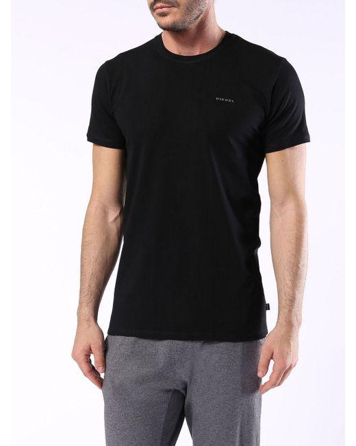 DIESEL | Black Umtee-randal2pack for Men | Lyst