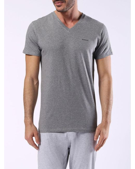 DIESEL | Gray Umtee-michael2pack for Men | Lyst