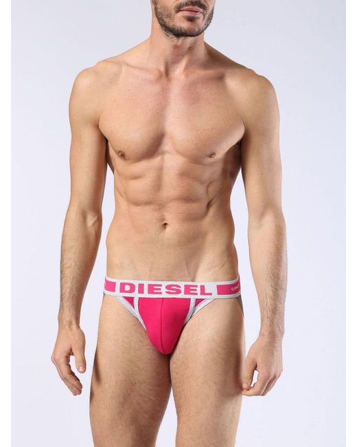 DIESEL | Pink Umbr-jacky for Men | Lyst