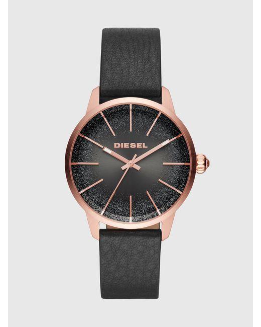 DIESEL Dz5573 Castilla Black Watch With Glittered Dial, 38 Mm