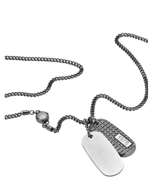 DIESEL   Metallic Necklace Dx0858 for Men   Lyst