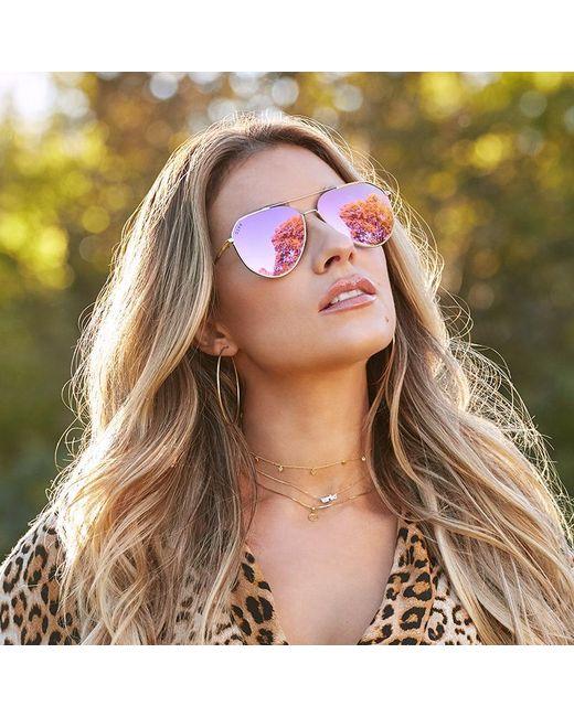 9827c6ca8f304 DIFF Jessie James Decker - Dash + Gold + Pink Mirror in Pink - Save ...