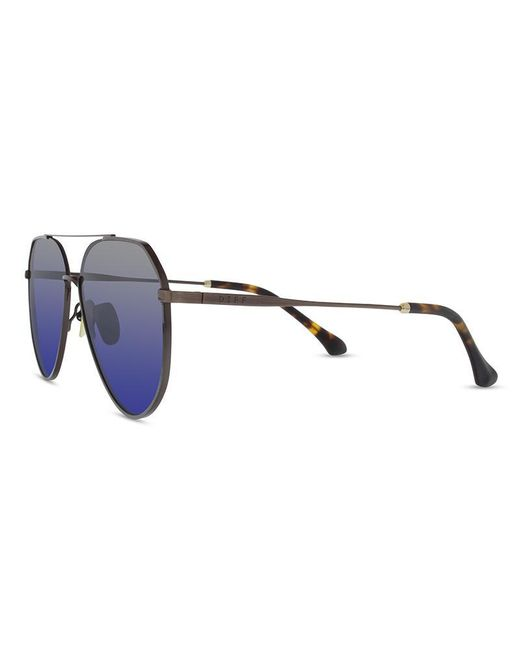 19b384aa66d ... DIFF - Multicolor Dash - Brushed Brown + Grey Blue + Polarized - Lyst  ...