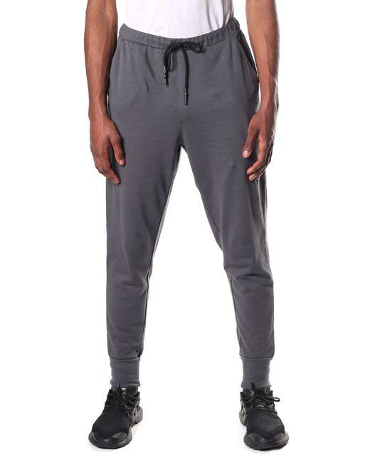 Y-3 - Gray Men's Logo Cuff Pants Solid Grey for Men - Lyst