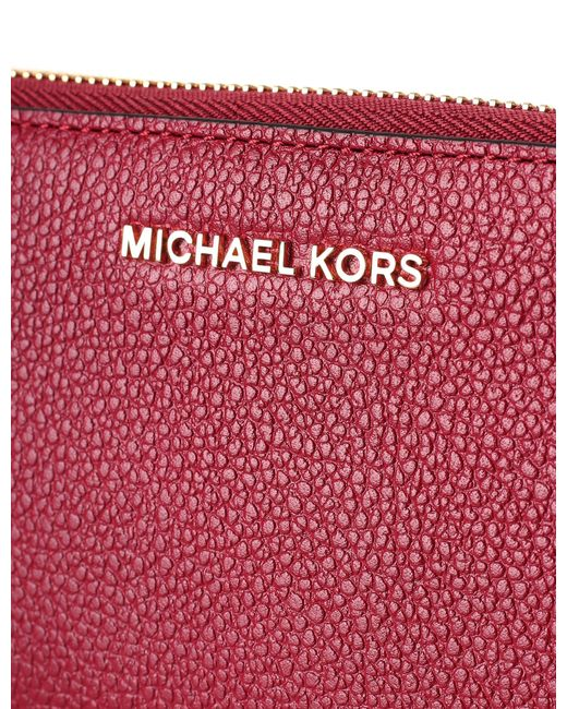 0320aab35416 ... Michael Kors - Multicolor Mercer Large Smart Phone Wristlet Mulberry -  Lyst ...