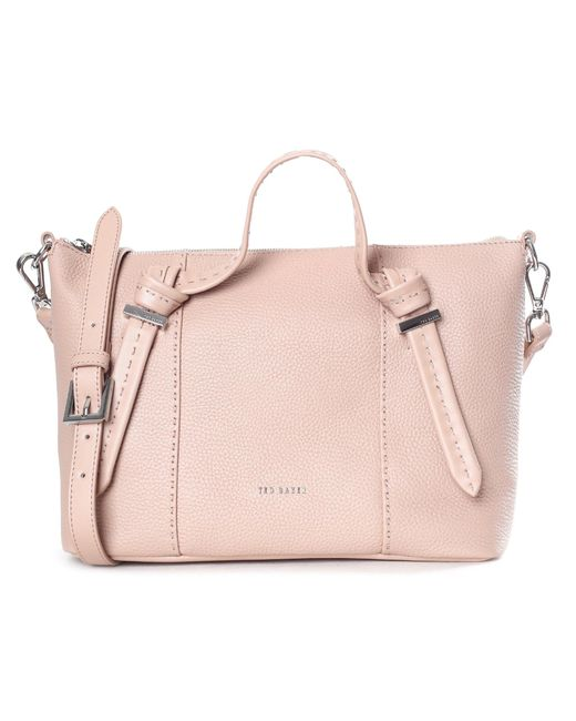 7a396d4c6c Ted Baker - Multicolor Knotted Handle Small Tote Bag - Lyst ...