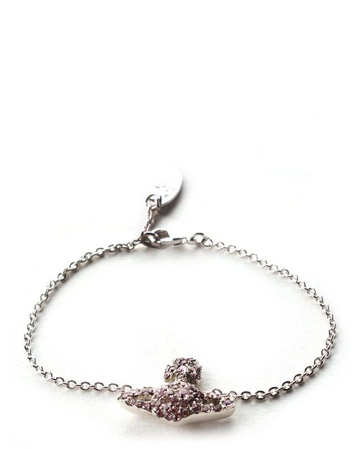 Vivienne Westwood - Grace Bas Relief Women's Bracelet Pink - Lyst