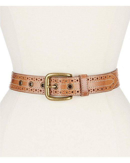Bed Stu | Multicolor Addison Perforated Belt | Lyst