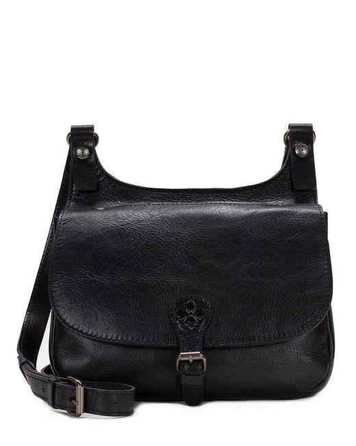 Patricia Nash - Black Distressed Vintage Collection Saddle Bag - Lyst